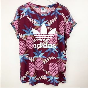 Adidas   Mesh pineapple short sleeves